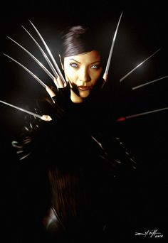 """""""I used to think you were one of a kind, Wolverine. I was wrong."""" - Deathstrike"""