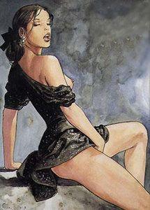 #milomanara #sexy #girl #comic #illustration #click