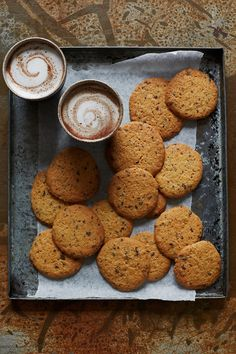 NOMU is an original South African food and lifestyle concept by Tracy Foulkes. Chocolate Chip Cookies Ingredients, Kinds Of Cookies, South African Recipes, Vanilla Essence, Cake Flour, Sugar And Spice, Tray Bakes, Cookie Dough, Brown Sugar