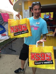 Come say hi to Icky at our #KS95 booth! #MNStateFair