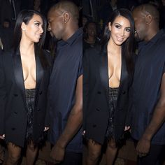 kimye/ WHY IS HE ALWAYS FULLY CLOTHED AND SHE IS NEVER DRESSED?
