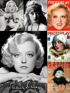 Marion Davies (Jan. 3, 1897 – Sept. 22, 1961) was an American film actress, producer, screenwriter, & philanthropist. She had a romance with newspaper tycoon William Randolph Hearst, who took over management of her career, financed her films, promoted her heavily through his newspapers, & pressured studios to cast her. Their lives are the basis for Orson Welles' film Citizen Kane. She is linked with the 1924 scandal aboard Hearst's yacht where one of his guests, film producer Thomas Ince, died.