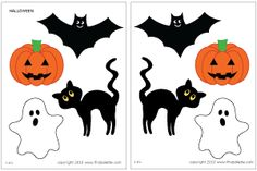 Halloween templates FREE to print