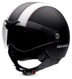 H-D Aviator Leather Helmet