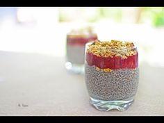 Budinca Chia   Gustos si Sanatos   Desert de Vara - YouTube Deserts, The Creator, Food And Drink, Pudding, Youtube, Vegans, Diet, Custard Pudding, Postres