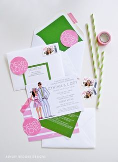 How fabulous are these Kentucky Derby Invitations via Ashley Brooke Designs? VERY!!!!!!!!!!!!!!!