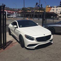 DRIVING BENZES — Mercedes-Benz S 63 AMG coupé (Instagram @RDBLA)