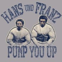 Hanz and Franz here to help you pump up your marriage!