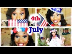 4th of July Makeup - YouTube