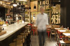 restaurante Fígaro, burgers with ecologic meet. great cocktails, afterwork gin tonic!