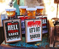 BBQ Sauce Party Favors