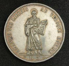 San Marino Coins 5 Lire Silver Coin of 1898.