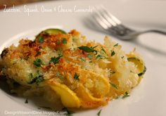Zucchini, Squash, Onion and Cheese Casserole - A Low Carb Side Dish | Flickr - Photo Sharing!