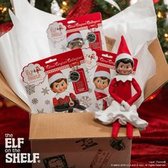 North Pole Fashion Delivery! | The Claus Couture Collection | Elf on the Shelf Ideas