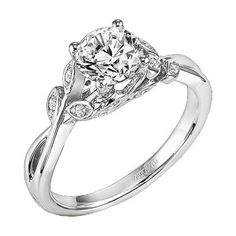 Artcarved engagement ring (floral collection) LOVE this!