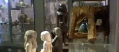 """""""At Britain's Manchester Museum, a 10-inch ancient Egyptian statue had been recorded spinning all on its own. … Some speculated that the statue was magnetic, releasing ancient gas, or just plain cursed as shit. But last November, vibrations expert Steve Gosling placed a sensor underneath the statue's glass cabinet and recorded the movement, finding that patrons' footfalls and the rumble from nearby traffic were subtly shaking it."""""""