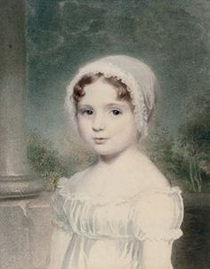 Adam Buck (1759-1833)  Portrait of a young girl, bust-length, in a white cap Christie's