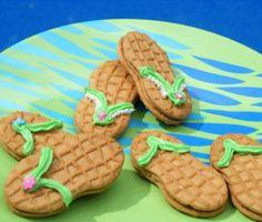 Its a flip flop cookie