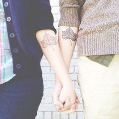 Devine Street Tattoos in Columbia, SC Artist: Darcy (left) and Jeremy (right) done at the same tie. My fiancé and I got matching tattoos. Hipster Tattoo, Girly Tattoos, Love Tattoos, Tattoos For Lovers, Arm Tattoos For Women, Inner Upper Arm Tattoos, Hand Tattoos, Script Tattoos, Tiny Tatoo