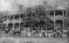 Douglasville Hotel built 1885 Sweetwater Park, Lithia Springs, Douglas County, Old Images, Park Hotel, Interesting History, Best Memories, Postcards, Georgia