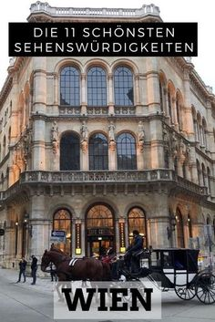 11 top sights for a short trip to Vienna - I love this city and tell you the most beautiful sights in Vienna! Whether the Cafe Central, the Pr - Vacation Ideas, Best Places To Vacation, Packing List For Vacation, Vacations To Go, Places To Go, Pacific Crest Trail, Europe Destinations, Appalachian Trail, Cafe Central