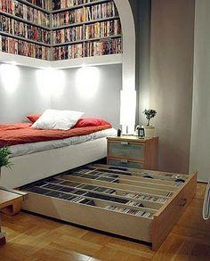 Perfect spot for a bibliophile!