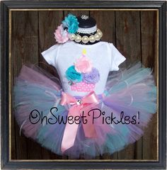 COTTON CANDY   Includes Birthday Tutu Skirt Set by OhSweetPickles ~ @doreatha2111 I found one with pink, purple, & blue.