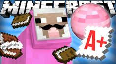 Pink Sheep Goes to School - Minecraft