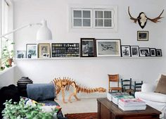 wow framed wall & stag!!