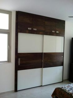 Modern Wall Wardrobe design | Kumar Interior