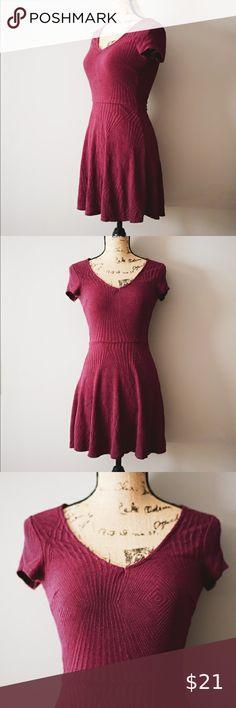 Retro Long Coat Gifts for Her Size M Velvet Short Sleeve Women/'s Vintage Designer Chic Mod Dress SALE 80/'s Neiman Marcus Burgundy Dress