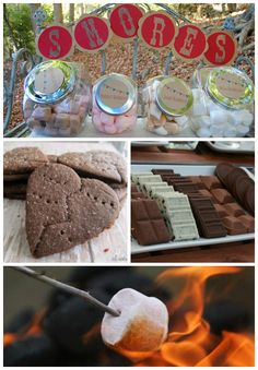 Gourmet S'mores on http://itsabrideslife.com