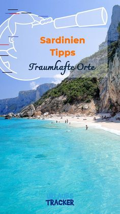 Sardinia tips: the most popular vacation spots & most beautiful beaches at a glance . - Sardinia tips: An overview of the most popular vacation spots and most beautiful beaches - Hawaii Vacation, Vacation Places, Italy Vacation, Beach Trip, Vacation Spots, Places To Travel, Travel Destinations, Sardinia Holidays, Popular Holiday Destinations