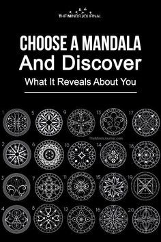 geometriai idézetek Choose A Mandala And Discover What It Reveals About You in 2020