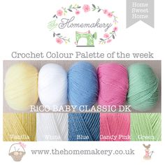 Crochet Colours home sweet home