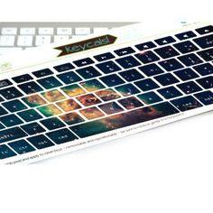 Macbook Keyboard Stickers Space Galaxy Nebula Decal by kidecals, $16.00