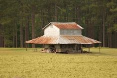 a vanishing structure... the tobacco barn