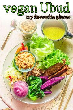Welcome to Ubud: vegan paradise - Justyna Manjari Vegan Cafe, Raw Vegan, Vegan Recipes Easy, Indian Food Recipes, Best Vegan Ice Cream, Vegan Hummus, Vegan Crackers, Vegan Restaurants, White Wolf