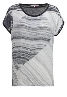 Anna Field T-Shirt print - black/offwhite - Zalando.de