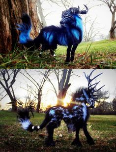 wolf Fantasy Creatures | Imaginary Woodland Fantasy Creatures, Wood Splitter Lee