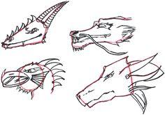 Wie man Drachen zeichnet