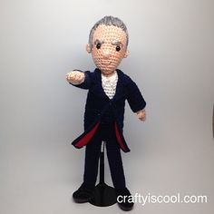 Ravelry: Twelfth 12th Doctor Who Amigurumi Pattern pattern by Allison Hoffman