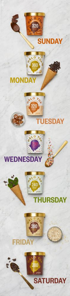 Every day is a reason for Halo Top. #ScoopItUp #ThePerfectPint