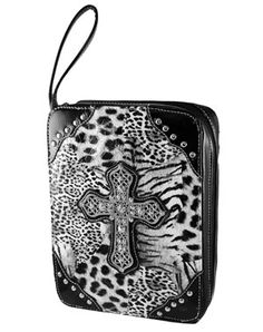 animal print Bible cover. LoVe!! * Bible Covers, Animal Prints, Play Dress, My Animal, Playing Dress Up, Savior, Scriptures, In This World, Women's Accessories