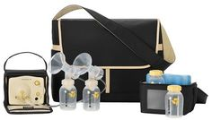 Medela Pump In Style Advanced - The Metro Bag. A daily breast pump for moms who pump multiple times per day, on-the-go.