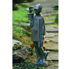 Sylvia Shaw Judson Design Little Gardener Sculpture from Kennedy Rose Garden