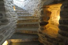 Philippitzis & associates » Blog Archive » Sakali Hotel Steam Bath, Old Mansions, Architecture Details, 19th Century, Old Things, Stairs, Traditional, Stone, House Styles