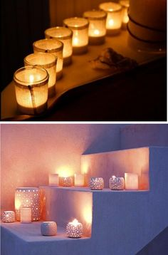 Candles - Staple Home Decor that will always remind me of my mom.