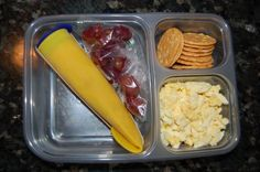 SCHOOL LUNCH IDEA: Freezing smoothies and sending them as part of lunch. By lunch, mostly thawed and yummy :)