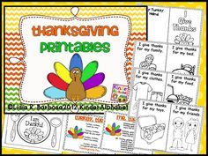 thanksgiving printables in english and spanish